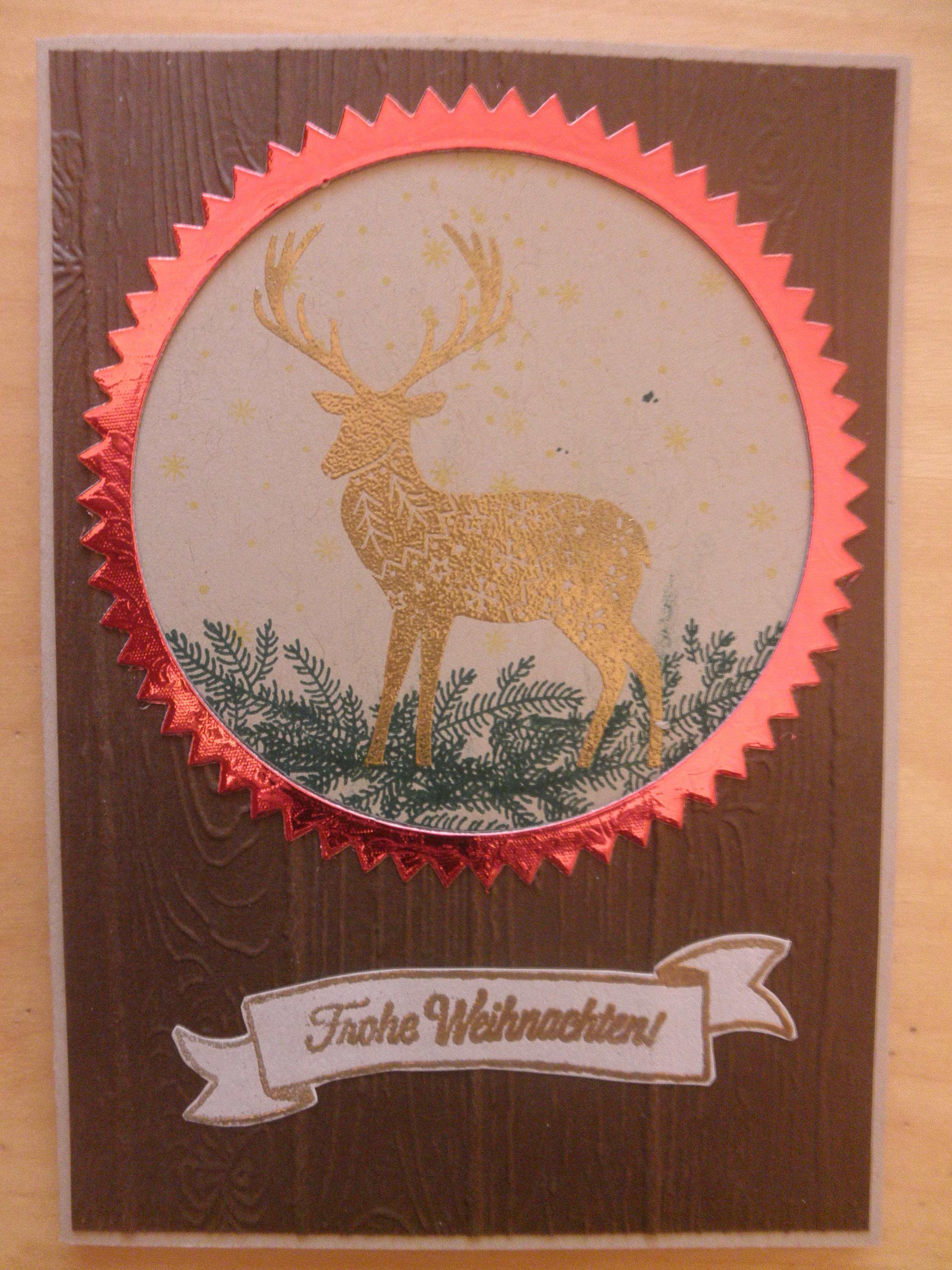 Weihnachten rustikal – Kunterbunte Papierträume
