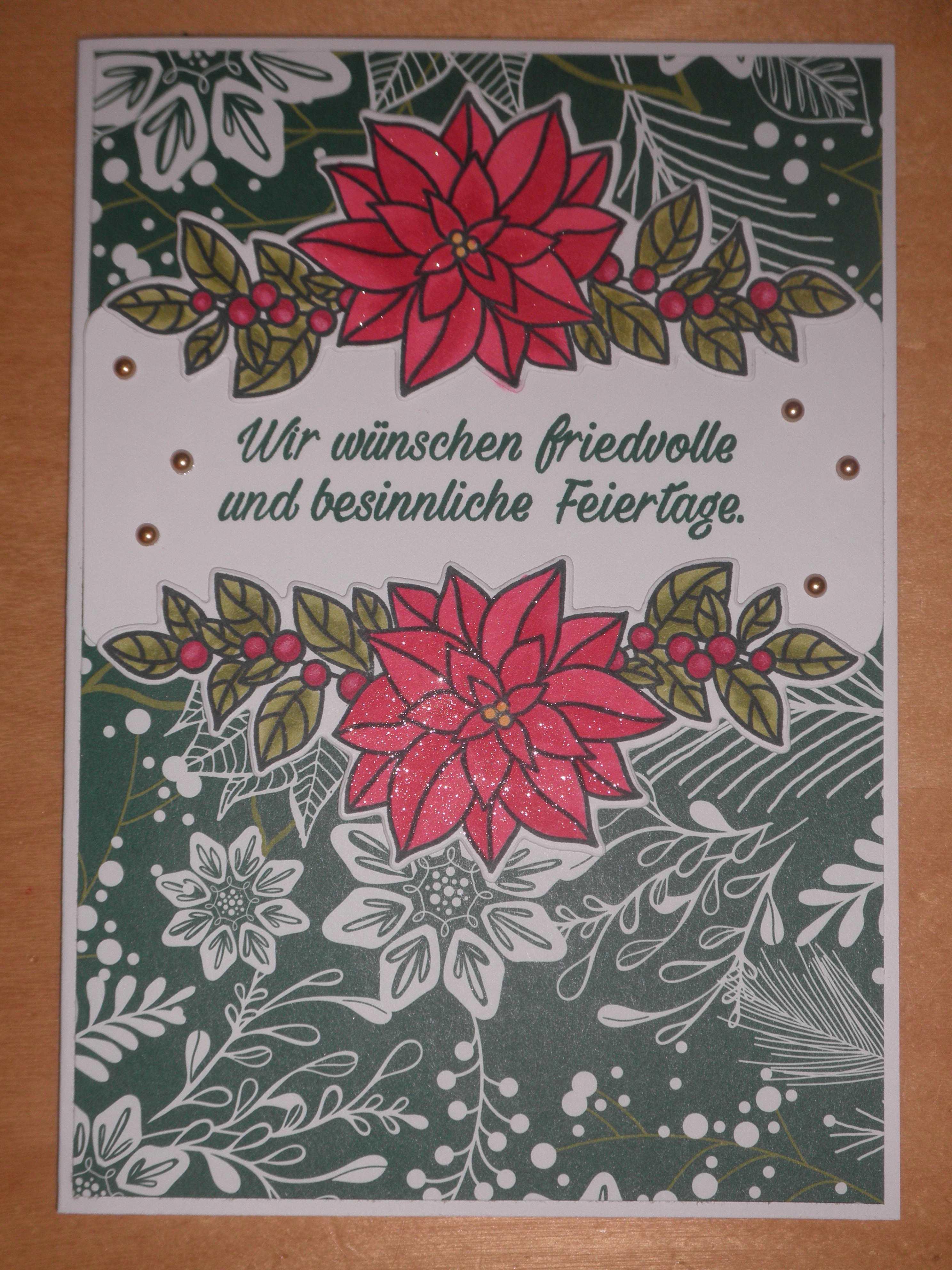 Wunderbarer Weihnachtsstern – Kunterbunte Papierträume